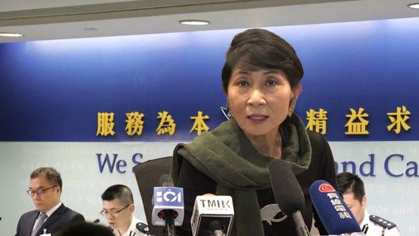 港警突然取消记者会 毛孟静公布太子站内情