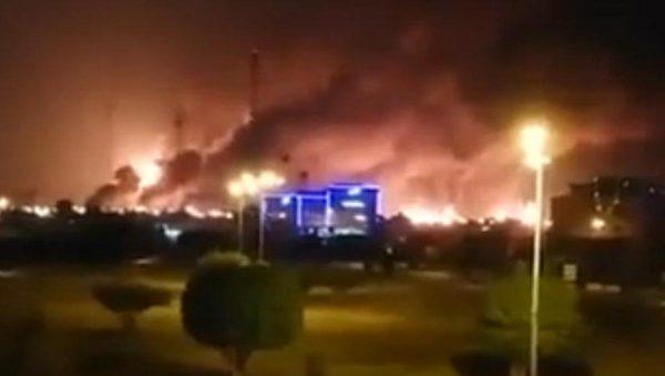 【江峰时刻】沙特阿美油田大火 无人机攻击幕后真凶