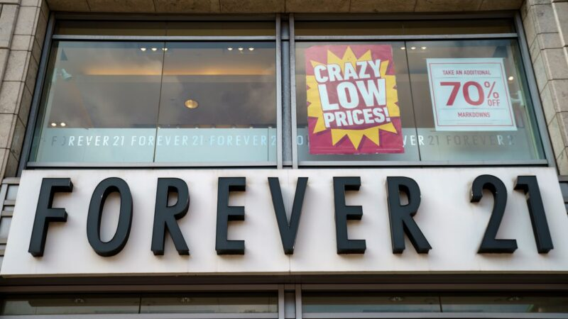 Forever 21申请破产 将关闭欧亚大部分门市