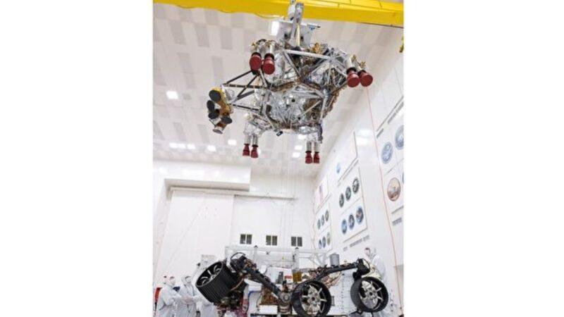 2020火星探测车着陆系统测试完成