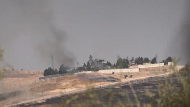 土耳其砲轟敘北 美軍基地受波及