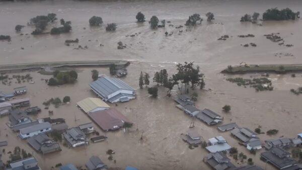 海贝思强袭日本 河川溃决酿10死16失踪逾百伤