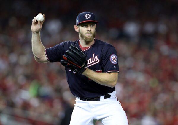 MLB季后赛史特拉斯堡K昏红雀 国民听牌