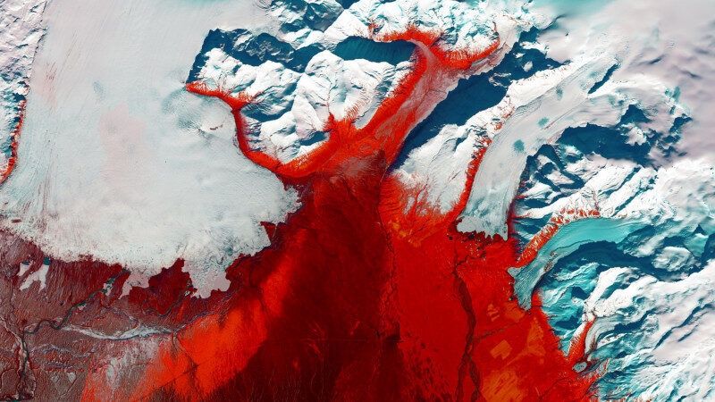 地球即藝術!衛星影像展示太空俯瞰下的壯麗美景(視頻)