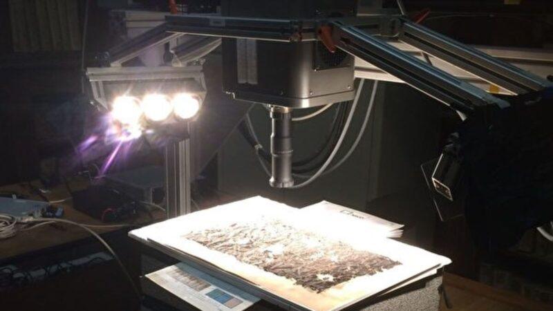 龐貝古卷毀於火山噴發 新技術讀出其背面文字