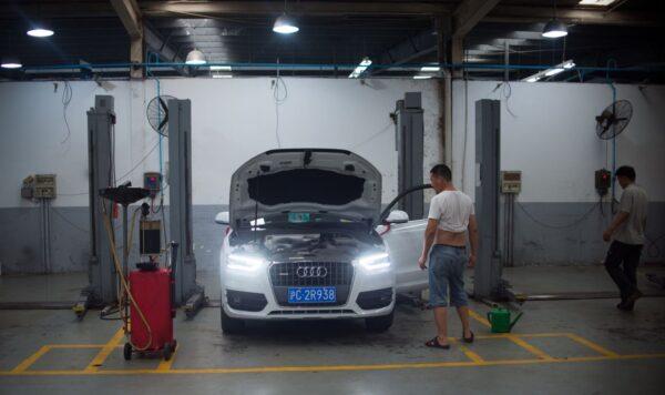 汽車維修問與答:冷車啟動沒有前進力量