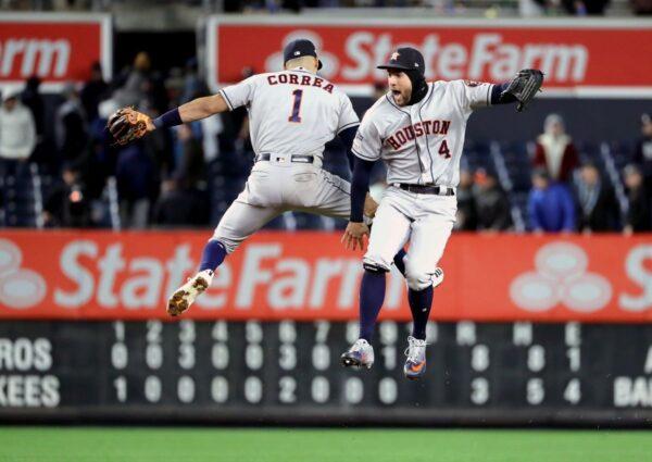 MLB季后赛史普林格、柯瑞亚开轰 太空人听牌