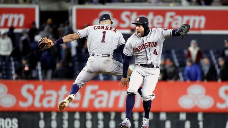 MLB季後賽史普林格、柯瑞亞開轟 太空人聽牌