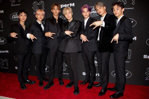SuperM出道作 於美國告示牌獲8榜冠軍
