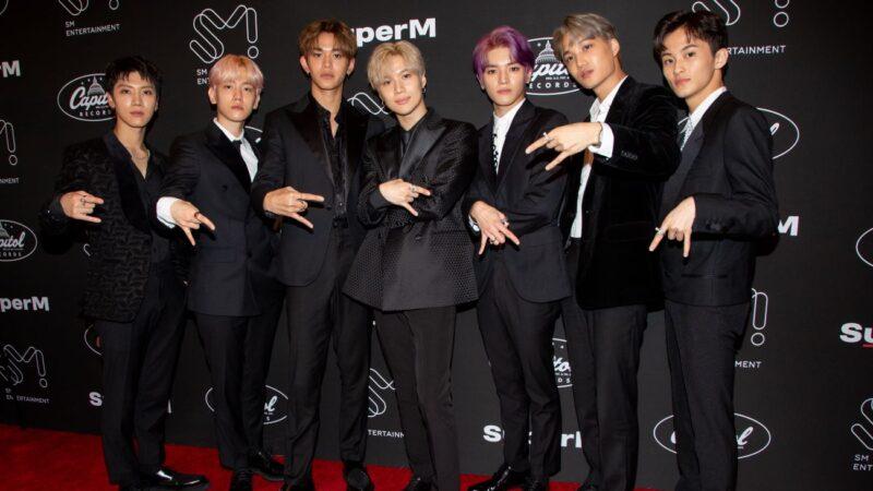 SuperM出道作 于美国告示牌获8榜冠军