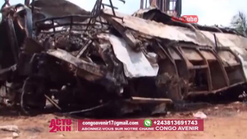 載逾百人公車失控起火 剛果嚴重車禍釀30死16傷