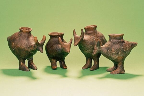 考古發現遠古人類使用的嬰兒奶瓶