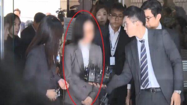 走后门犯大忌 韩国前法务部长曹国妻遭逮捕