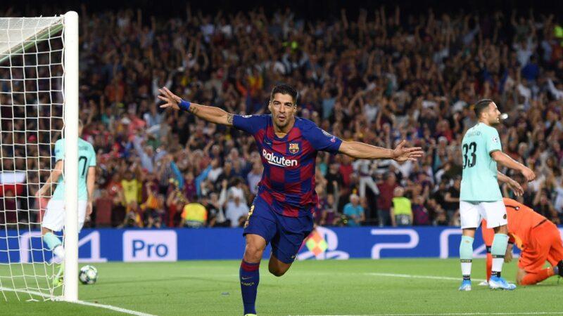 歐冠小組賽:巴塞羅那主場逆轉國際米蘭