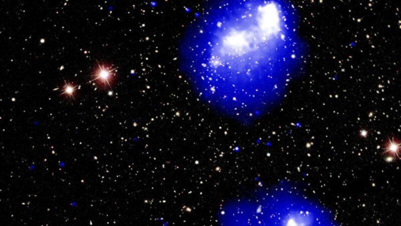 4個星系團罕見碰撞 將合併成龐大天體