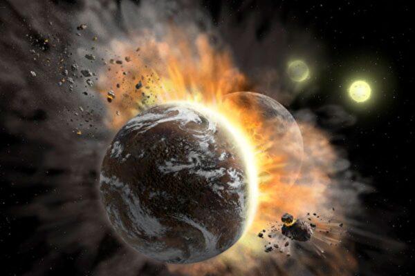 两颗系外行星灾难性对撞 对科学家有何启示