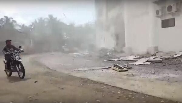 菲南6.6浅层地震 学校停课市政厅损毁已知2死(视频)