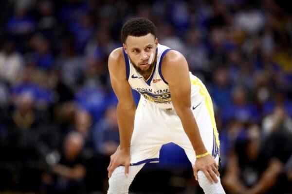 NBA库里孤掌难鸣 勇士遭雷击