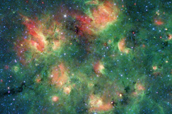 NASA:银河系某区域充满泡泡 内藏大量恒星