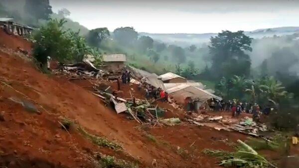 深夜整座山崩塌 喀麥隆至少42人死含26童