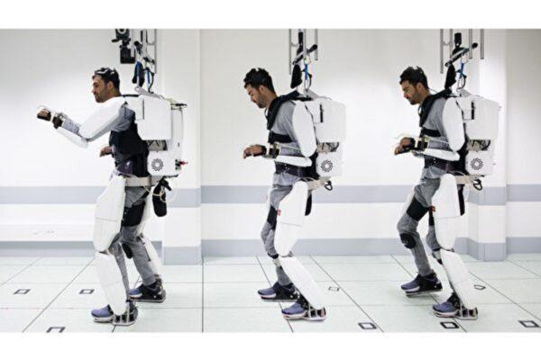 瘫痪人用意念控制重新行走