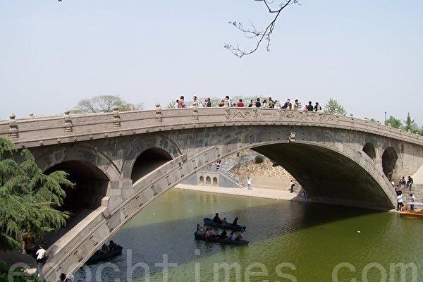 林辉:中共对赵州桥的破坏令人叹惋