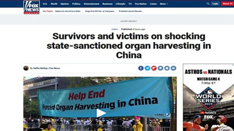 福克斯:幸存者披露中共活摘器官恐怖内幕