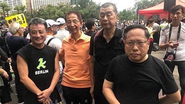 袁斌:一位15少年与一位71岁长者的香港魂