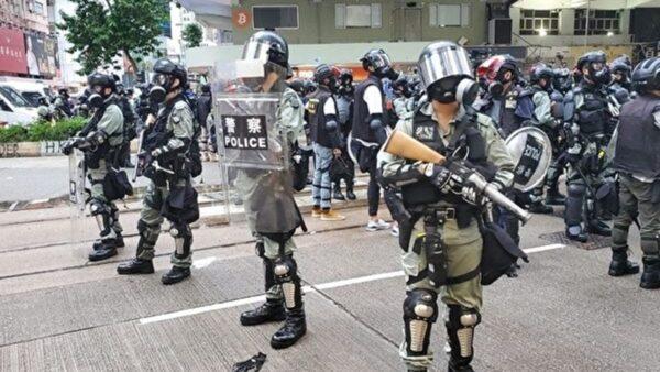 江靜玲:他們沒有武器 只有不服從的態度