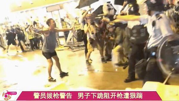 """""""香港坦克人""""和民阵获奖 美两党议员支持"""