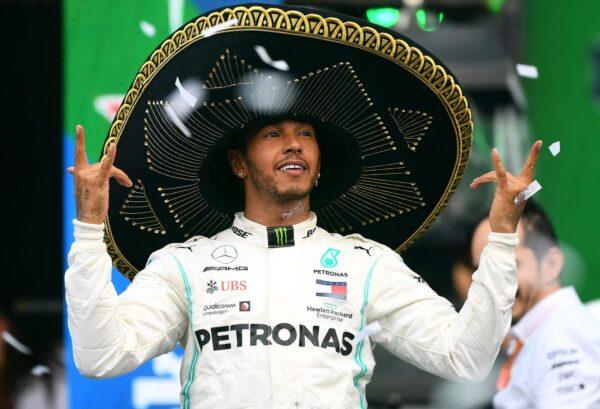 F1墨西哥站:漢密爾頓登頂 劍指總冠軍