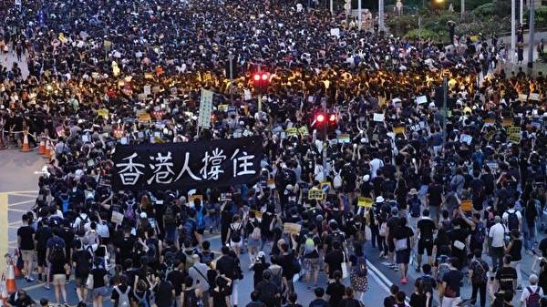 王友群:國際正義力量源源不斷匯聚香港