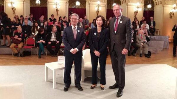 中華民國總統特使歐洲演講:中共模式傷害世界不可持續