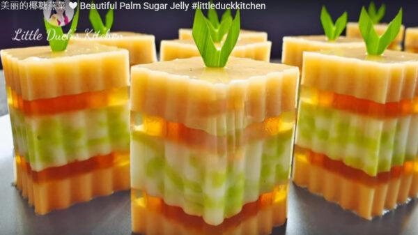 美麗的椰糖燕菜 派對必備甜品(視頻)