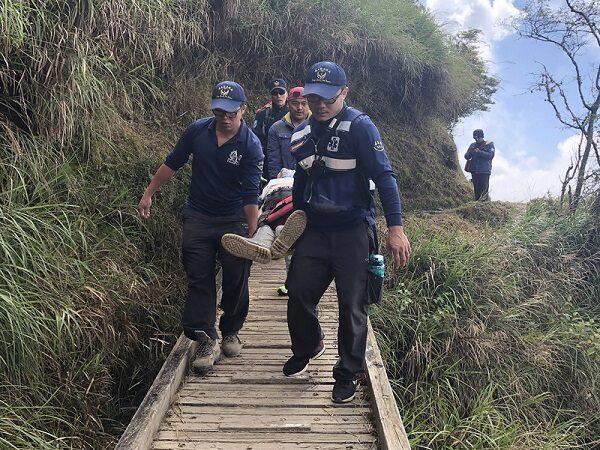 60岁男率队攻玉山 爬500公尺突昏倒猝死