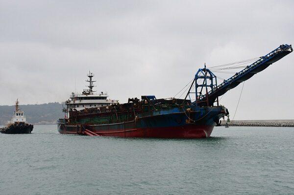 中国采砂船频越界 马祖海巡一周内扣第2艘