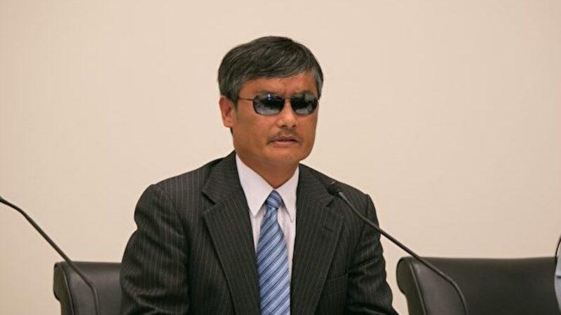 陳光誠:革命尚未成功 世界必須努力