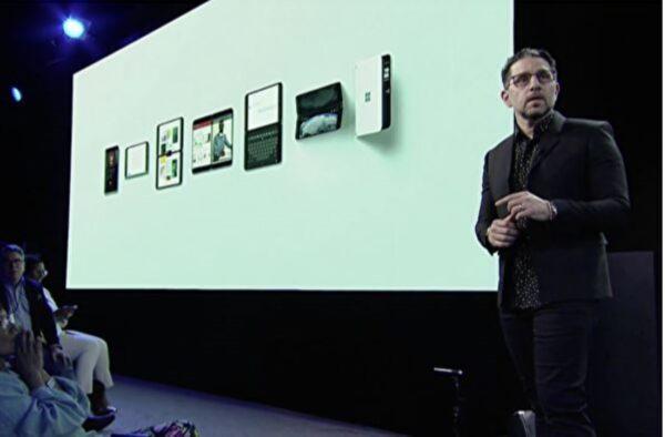 微软硬件大会 推出双屏Surface Neo