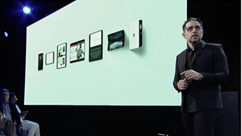微軟硬件大會 推出雙屏Surface Neo