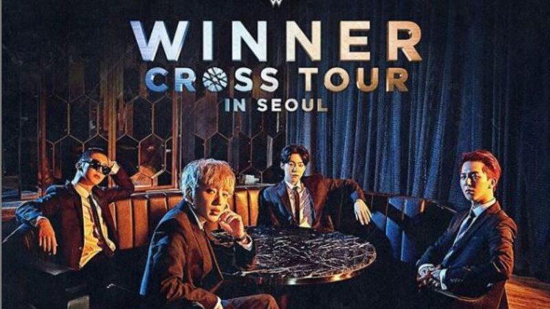 WINNER《CROSS》於27區iTunes榜單摘冠
