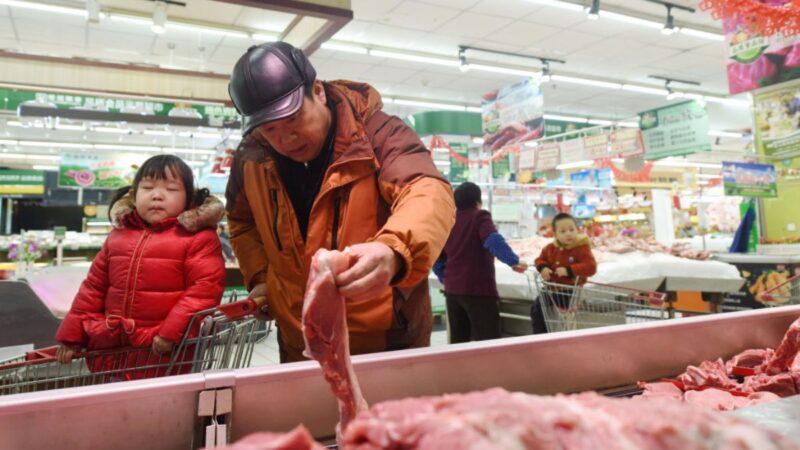 购美农产品有难言之隐 陆猪肉危机加深价格暴涨7成