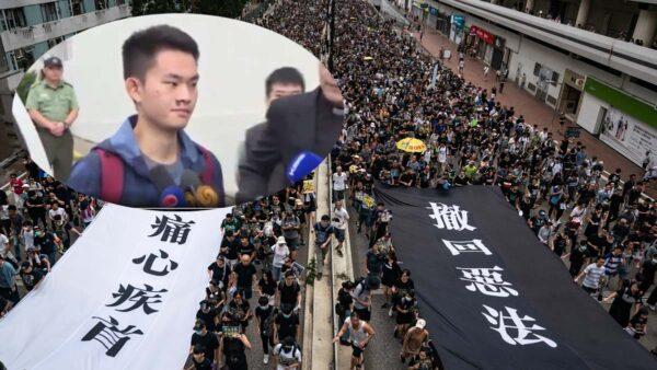 陈同佳出狱未去台湾 网传新成语讽林郑进退两难