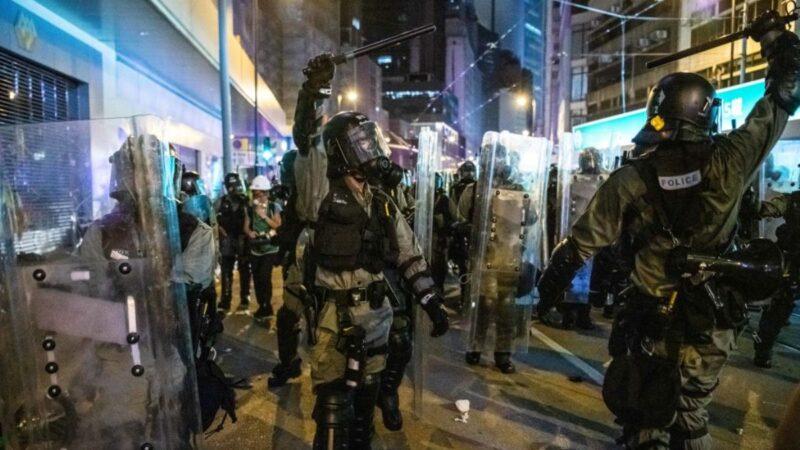 建制派推「禁蒙面法」 民陣:最應禁蒙面是警隊