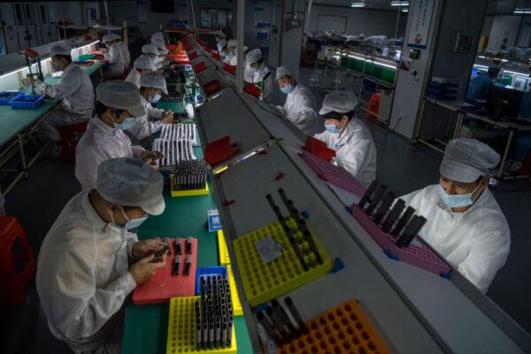 外媒调查:中国制造业薪资成长停滞