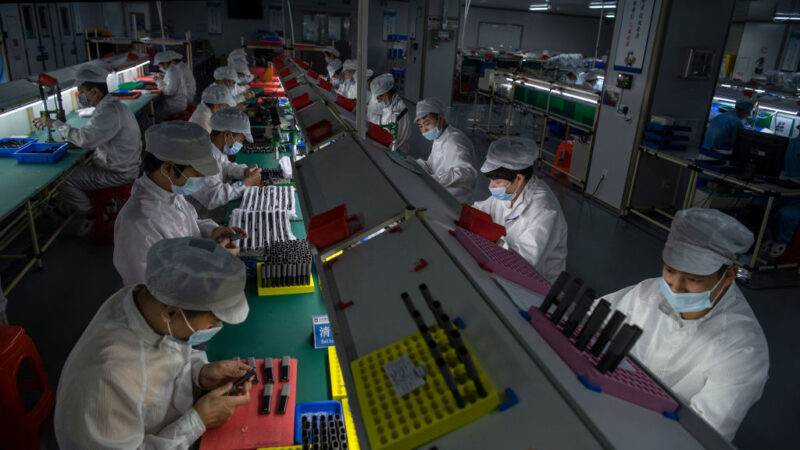 外媒調查:中國製造業薪資成長停滯