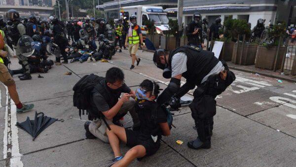 十一前香港局勢緊繃 習近平重申一國兩制「維穩」