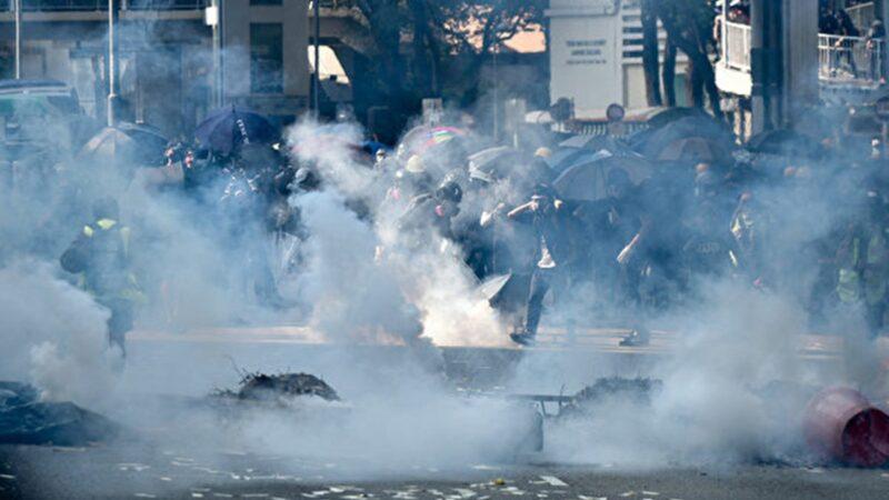 【直播回放】10.1港人六區抗暴政 警多處射實彈
