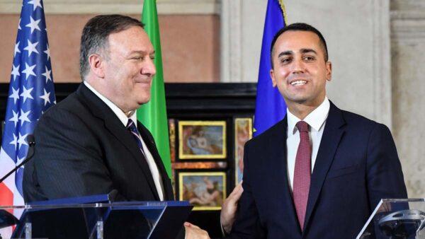 蓬佩奥就華為5G警告意大利 中共連續3天採購美豆