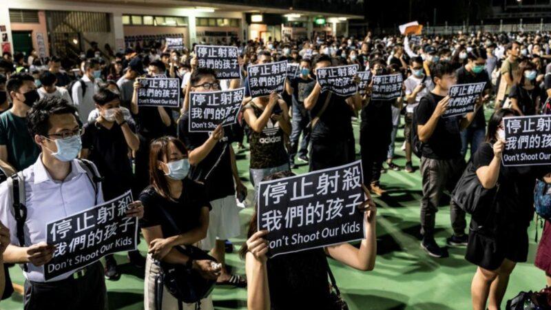10.1香港抗议者74伤2命危 中枪男生暂脱离危险