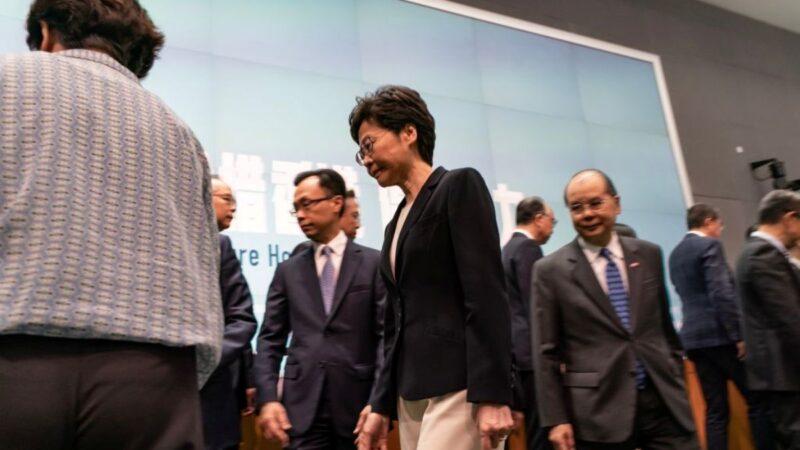消息:港府内部曾考虑特赦示威者 林郑不同意